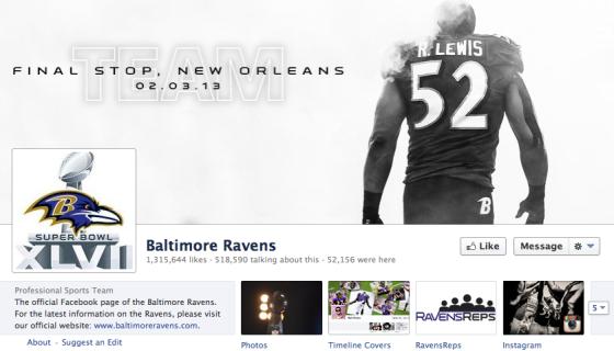 Ravens Facebook